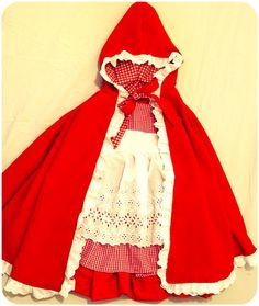 Capa de Chapéuzinho Vermelho - 1 a 5