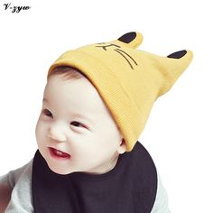 Fashion Autumn Winter Crochet Baby Hat Girl Boy Cap Baby Beanies Infant Toddlers Kids Hat Accessories Photography Props #Affiliate