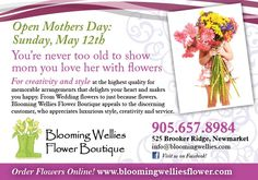 Don't forget to order flowers for Mother's Day. Everyone enjoys a spring bouquet. Flower Boutique, Spring Bouquet, Order Flowers, Are You Happy, Love Her, Wedding Flowers, How To Memorize Things, Forget, Bloom