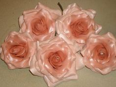 Ombre Gum Paste Roses for Weddings Showers Anniversaries Graduation (78.00 USD) by GumpasteGarden