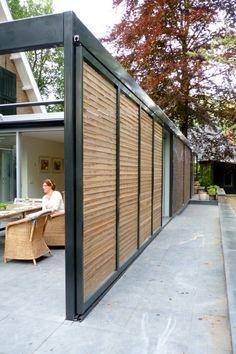 Outdoor Rooms, Outdoor Living, Outdoor Decor, Pergola Patio, Gazebo, Exterior Blinds, West Facing House, Deck Shade, Rooftop Terrace Design