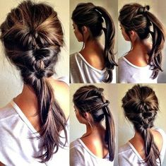 Everyday #hairstyle - three ponytail