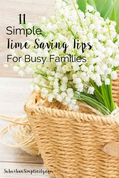 Life is Busy! Do you wish you had a few more hours in the day?  Come learn these simple time saving secrets so you can spend more time with your family, not on cleaning and organizing | Home Organization | Free Printable