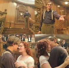 Meet me at the clock tower. Jack and Rose. Real Titanic, Titanic Movie, I Movie, Titanic Quotes, Kate Winslet And Leonardo, Leo And Kate, Jack Dawson, Young Leonardo Dicaprio, Movie Facts