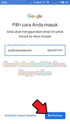 Lihat Cara Buat Email Di Google mudah