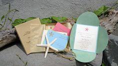 Elegant Boxed Starfish Beach Themed by adollopofinspiration, $21.00