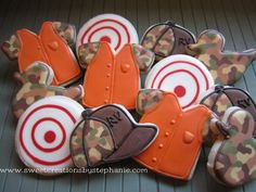 @Molly Parrish- for your party Hunting cookies @Sweet Creations by Stephanie