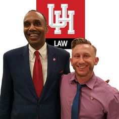@UHLaw Dean Leonard M. Baynes my ivy brother and fellow new member of the #UHLC family. #ColumbiaLaw #PennLaw