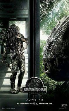 Predator vs the Indominus Rex Alien Vs Predator, Predator Alien, Predator Comics, Jurassic World 2015, Indominus Rex, Facebook Art, Mecha Anime, Image Fun, Movie Poster Art