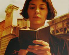Amelie Poulain Amelie, Audrey Tautou, Movie Place, Star Reading, Cinema Quotes, Film Pictures, Pretty Images, Love Movie, Film Stills