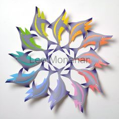 colorful paper sculpture - Google Search