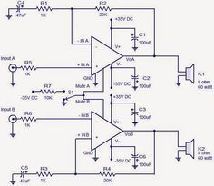 How to make an amplifier 200 Watts using STK4141 with
