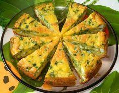 Пирог с яйцами и зелёным луком.   Шедевры кулинарии
