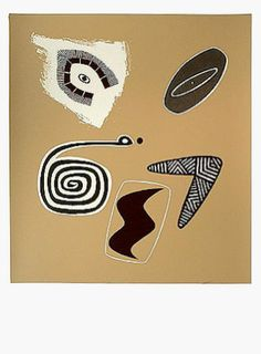 """Ochre Tiki"" by Dick Frizzell. Edition of 80. 76 x 56 cm. Available for purchase, check it out at www.smythgalleries.co.nz"