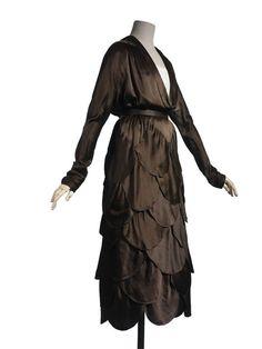 Création:  Madeleine Vionnet , maison de couture, 1918, collection été (haute couture) Madeleine Vionnet , couturier, Paris,