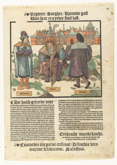 Enndracht maakt macht, Anonymous, Peter Warnerssen, 1540 - 1567