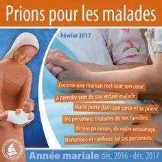 ANNEE MARIALE : INTENTION DE PRIERE POUR LE MOIS DE FEVRIER