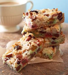 Holiday Seven-Layer Bars - Recipes, Dinner Ideas, Healthy Recipes & Food Guide