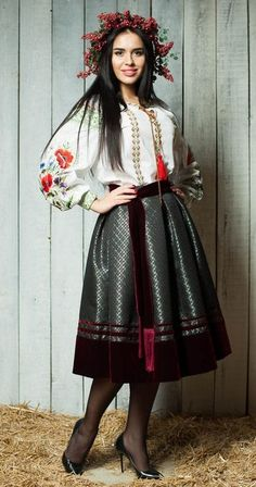 дизайнер Ольга Стрельцова  Ukrainian beauty folk fashion