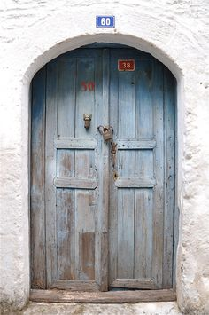 Pale Blue Door - Marmaris Old Town - Turkey