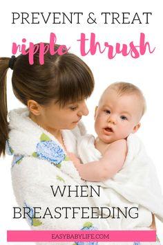 how treat nipple thrush