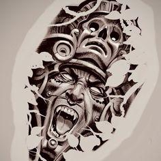 Aztec Warrior Tattoo, Aztec Tribal Tattoos, Aztec Tattoo Designs, Warrior Tattoos, Aztec Art, Lion Leg Tattoo, Leg Tattoo Men, Tattoo Design Drawings, Skull Tattoo Design