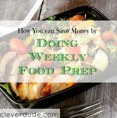 Interested in eating healthier and save money at the same time?Here's what me and my son did since he wants to take an active role in eating healthy.
