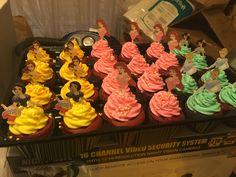 Disney Princess cup cakes