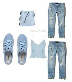 """Geen titel #10"" by iris1993 ❤ liked on Polyvore featuring Hollister Co., River Island and Armani Jeans"