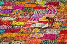 Agra, Uttar Pradesh, Inde : des couleurs sauvées des eaux