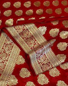 Kanjivaram Sarees Silk, Brocade Saree, Banarsi Saree, Nauvari Saree, Indian Silk Sarees, Lehenga, Brocade Fabric, Red Saree Wedding, Wedding Silk Saree