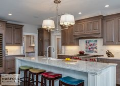 Sophisticated Two Tone Kitchen In Scituate   Norfolk Kitchen U0026 Bath