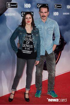 (LR) Ruth Núñez y Alejandro Tous asisten al 'Juegos de Tronos' exposición al photocall 'El Matadero' el 28 de abril de 2015, de Madrid, España. (Foto por Pablo Cuadra / WireImage)