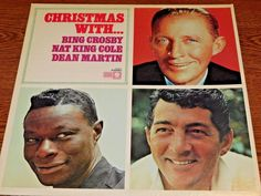 1970's Brand New LP ! Christmas With Bing Crosby , Nat King Cole, Dean Martin NE