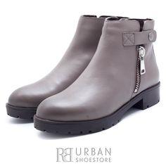 Botine dama casual din piele naturala - 437 Taupe Rubber Rain Boots, Casual, Shoes, Fashion, Moda, Zapatos, Shoes Outlet, Fashion Styles, Shoe