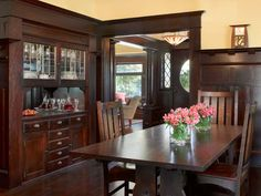 18 Best Craftsman Built In Images