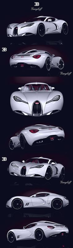 Bugatti Gangloff Concept by Paweł Czyżewski...probably the most beautiful concept ever ... This is a sexyy car ❤️