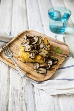 Polenta with Mushrooms | Mushroom Info
