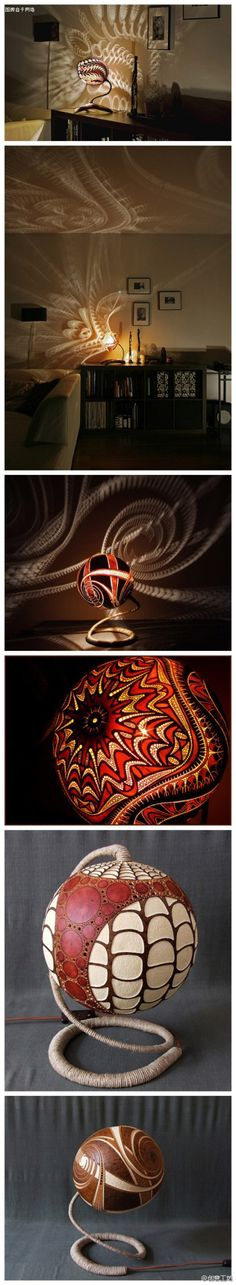 Such a cool lamp!!