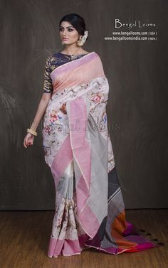 aa37f40fc4 26 Best Printed Silk Saree images in 2019 | Printed silk, Indian ...