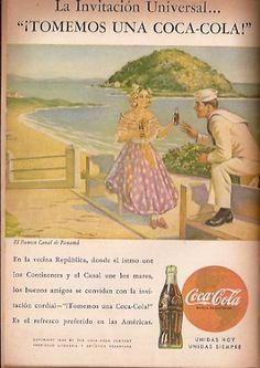 Coca Cola- Publicidad Gráfica Revista Selecciones 1944 - Panamá