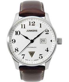 Junkers Iron Annie JU52 Auto ETA 2826-2 watch Big date 42mm White dial 6656-1