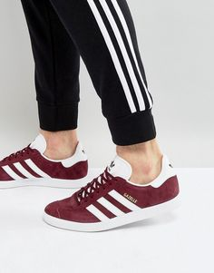 sports shoes eea97 cbc73 adidas Gazelle Sneakers In Burgundy BB5255 Sneakers Mode, Bordeaux