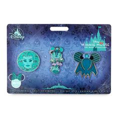 Minnie Mouse: The Main Attraction Pin Set – The Haunted Mansion – Limited Release   shopDisney