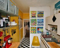 kitchen.    from design*sponge.
