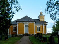 Honkajoen kirkko. - The Lutheran Church Honkajoki, Finland.