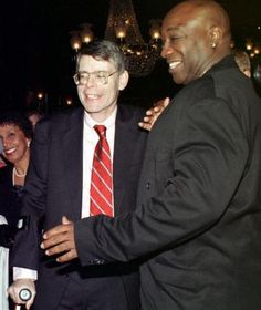 Stephen King and Michael Clarke Duncan (RIP)