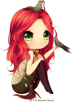 Cordelia - anime, chibi, girl - cute / kawaii