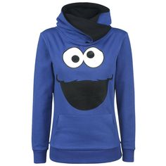 """Sesame Street"" hooded sweater."