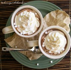 We love how this Pumpkin Spice Hot Chocolate combines some of our favorite flavors.  http://thestir.cafemom.com/food_party/192338/10_thermosfriendly_drink_recipes_for/145980/pumpkin_spice_hot_chocolate/2